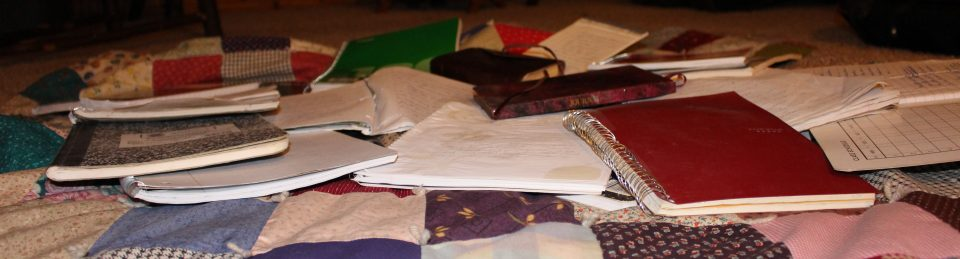Scattered Notebooks